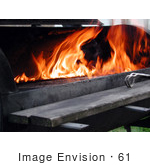 #61 Picture Of A Lit Barbecue Grill