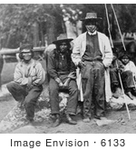#6133 Group Of Piute Indians