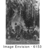#6153 Flathead Indian Gathering