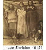 #6154 Group Of Colville Indians