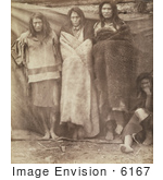 #6167 Group Of Colville Indians