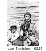 #6229 Sinkiuse-Columbia Indian Mother by JVPD