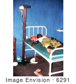 #6291 Picture Of A Female Patient With Lassa Fever Receiving Crucial Plasma