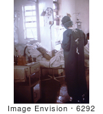 #6292 Picture Of A Doctor Caring For A Johannesburg South African Marburg Virus Patient