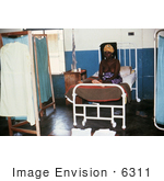 #6311 Picture Of A Female Patient Recovering From Lassa Fever In The Segbwema Sierra Leone Clinic