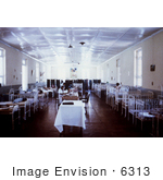 #6313 Picture Of The Children'S Ward Of The Port Louis Mauritius Civil Hospital Where Typhoid Patients Were Housed