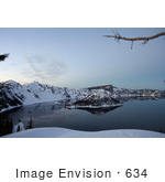 #634 Image Of Wizard Island Crater Lake