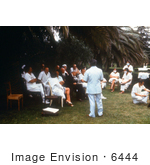 #6444 Picture of a Clinical Pathological Conference Durint a 1975 South African Marburg Fever Investigation by KAPD