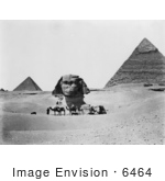 #6464 Egyptian Pyramids and Sphinx by JVPD