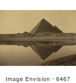 #6467 Reflection Of The Great Pyramid