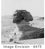 #6475 Great Sphinx At Giza