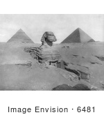 #6481 The Great Sphinx And The Egyptian Pyramids