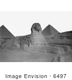 #6497 Giza Sphinx And Pyramids
