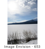 #653 Nature Photograph of Mount Bailey and Diamond Lake by Jamie Voetsch