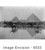 #6533 Flooded Village Near The Egyptian Pyramids
