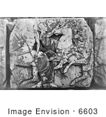 #6603 Horse Bas Relief From Parthenon Frieze by JVPD