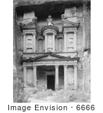 #6666 el-Kazne, The Treasury, in Petra by JVPD
