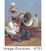 #6701 Noise Research Program On Hangar Apron