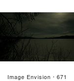 #671 Picture of Diamond Lake at Night Under Moonlight by Kenny Adams