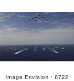 #6722 Aircraft And Ships