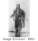 #6801 Quanah Parker Comanche Indian Chief