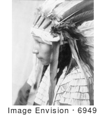 #6949 Stock Image: Daughter Of Bad Horse Cheyenne Native