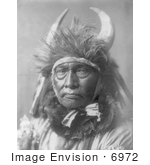 #6972 Apsaroke Native Man By The Name Of Bull Chief
