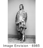 #6985 Crow Native American Chief by JVPD