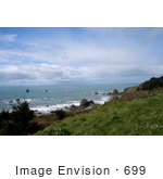 #699 Photograph Of A View From Cape Ferrelo Oregon
