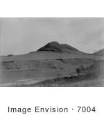 #7004 Stock Image Of A Hill And Valley In North Dakota Former Locatio