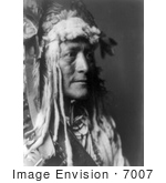 #7007 Stock Image Of Hidatsa Indian Man By The Name Of White Duck