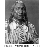 #7011 Stock Photography: Apsaroke Crow Indian Man Called Red Wing by JVPD