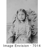 #7014 Stock Photograph of Standing Holy, Daughter of Sitting Bull by JVPD