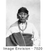 #7020 Stock Image Of Osage Indian Named Bear Legs
