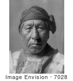 #7028 Stock Image Of A Hidatsa Indian Man Called Sitting Owl