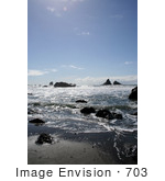 #703 Image Of Lone Ranch Beach Oregon