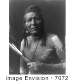 #7072 Apsaroke Native American Man by the name of Two Leggings by JVPD
