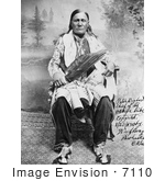 #7110 Stock Image of an Osage Indian Chief, Peter Bighart by JVPD