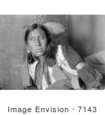 #7143 Stock Image: Sammy Lone Bear Sioux Native American