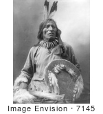 #7145 Stock Image: Sioux Man Named Fool Bull