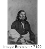 #7150 Stock Image: Sioux Indian Little Crow