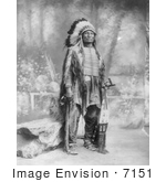 #7151 Stock Image: Sioux Indian Named Broken Arm