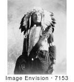 #7153 Stock Image: Sioux Indian Named Plenty Holes