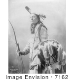 #7162 Stock Image: Plenty Wann Did Sioux Indian