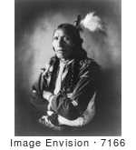 #7166 Stock Image: Sioux Indian Named Blue Horse