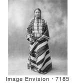 #7185 Stock Image: Lucy Red Cloud, Sioux Indian by JVPD