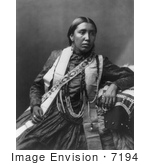#7194 Stock Image: Sioux Indian Woman, Susan Frost by JVPD