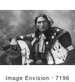 #7196 Stock Image: Sioux Man Named Eddie Plenty Holes by JVPD