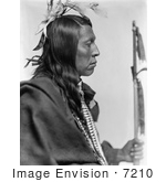 #7210 Stock Image: Sioux Indian Called Flying Hawk