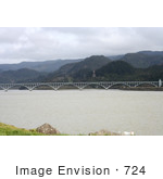 #724 Photo of the Patterson Bridge, Gold Beach, Oregon by Jamie Voetsch